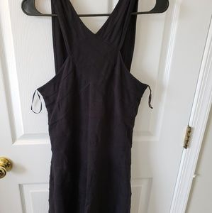 GUESS Black off over and off the shoulder dress